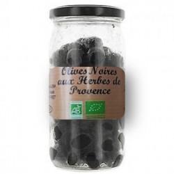 Olives noires herbes de...